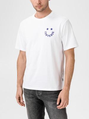 Tričko Converse Star Graphic Tee Bílá