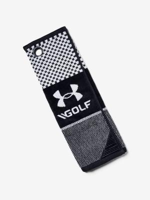 Ručník Under Armour Bag Golf Towel Černá