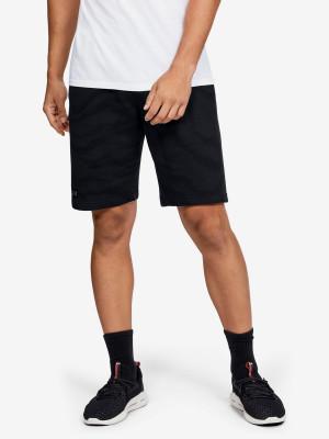 Kraťasy Under Armour Rival Fleece Printed Shorts Černá