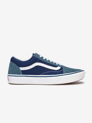 Boty Vans Ua Comfycush Old S (Suede/Textile) Modrá