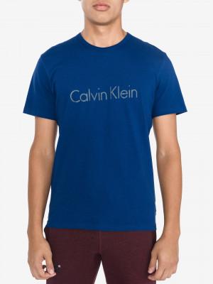 Triko na spaní Calvin Klein Modrá
