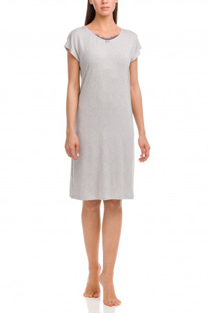 Dámská noční košile 12180-504 béžovošedá - Vamp šedo-béžová
