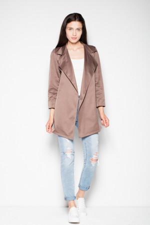 Dámský kabátek - plášť  VT039 - Venaton hnědá