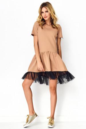 Denní šaty model 141847 Makadamia