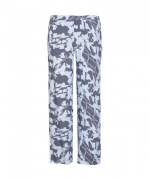 Dámské pyžamové kalhoty QS6028E-SFB modrá - Calvin Klein modrá