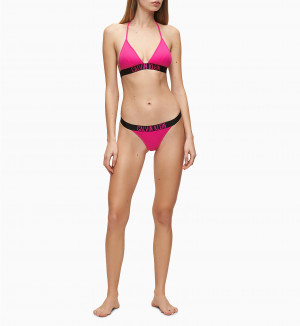 Spodní díl plavek KW0KW00939-TZ7 růžová - Calvin Klein růžová