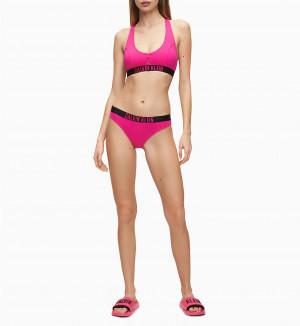 Vrchní díl plavek KW0KW00918-TZ7 růžová - Calvin Klein růžová