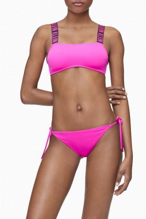Vrchní díl plavek KW0KW00911-TZ7 růžová - Calvin Klein růžová