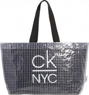 Plážová taška K90KW00005-BEH černá - Calvin Klein černá uni