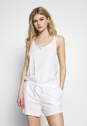 Plážový overál KW0KW01003-YCD bílá - Calvin Klein bílá