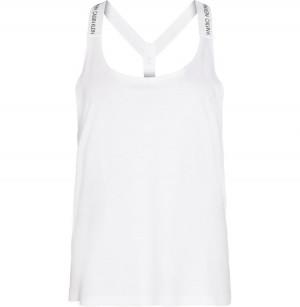 Plážový top KW0KW01002-YCD bílá - Calvin Klein bílá