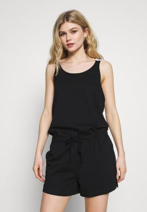 Plážový overál KW0KW01003-BEH černá - Calvin Klein černá