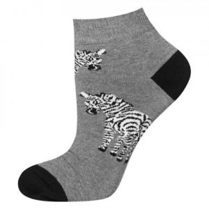 Ponožky SOXO GOOD STUFF - Zebry