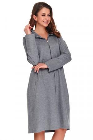Dn-nightwear SCL.9925 Dámský župan L dark grey