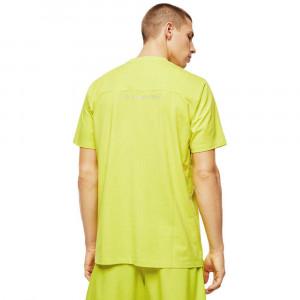 Pánské tričko 00ST5I-OCAXU-5AT žlutá - Diesel žlutá