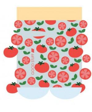 Ponožky SOXO GOOD STUFF - Rajčata šedá 35–40