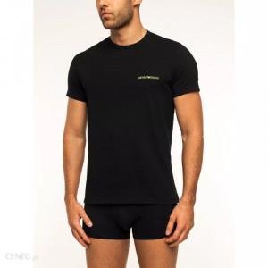 Pánské tričko 2pcs 111267 9A717 07320 černá - Emporio Armani černá