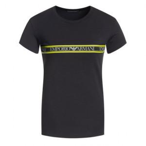 Pánské tričko 111035 9A525 00020 černá - Emporio Armani černá