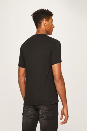 Pánské tričko 110853 9A524 00020 černá - Emporio Armani černá