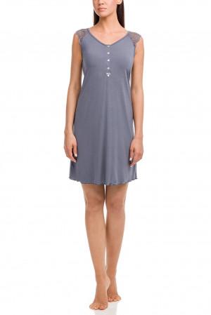 Dámská noční košile 12155-500 šedá - Vamp šedá