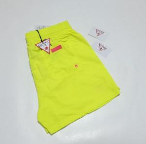 Pánské plavky F02T00TEL27-FLYL-žlutá - Guess žlutá