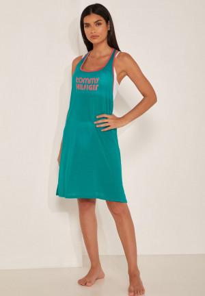 Plážové šaty UW0UW02150-L54 zelená - Tommy Hilfiger zelená