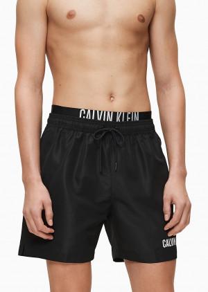Pánské plavky Calvin Klein KM0KM00450 M Černá