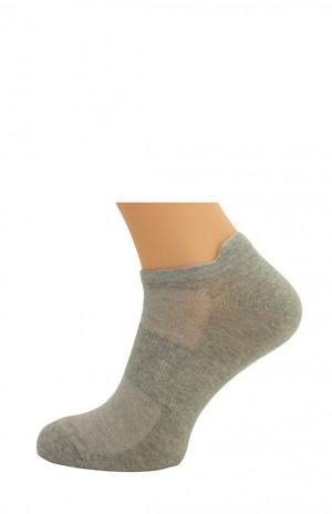 Hladké pánské ponožky Bratex Active Sport 7054 bílá 44-46