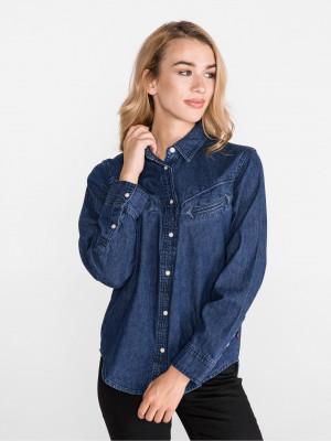 Dori Western Košile Levi's Modrá
