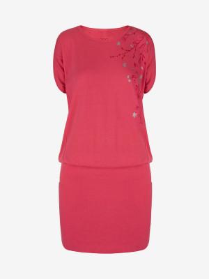Šaty Loap Aslana Růžová