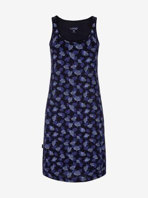 Šaty Loap Asnara Modrá
