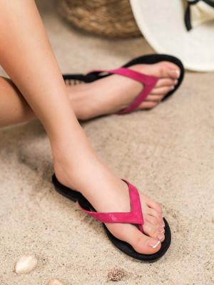 Komfortní dámské  nazouváky černé bez podpatku