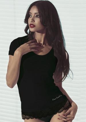 Dámské tričko Pierre Cardin Chanel  L Černá