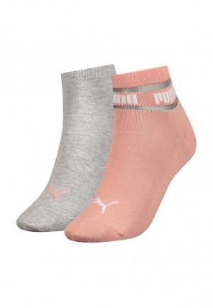 Dámské ponožky Puma 907088 Quarter Soft A'2 broskvová 35-38