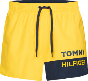 Pánské plavky UM0UM01683-ZGT žlutá - Tommy Hilfiger žlutá
