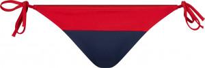Spodní díl plavek UW0UW02079-XL7 červenomodrá - Tommy Hilfiger červeno-modrá