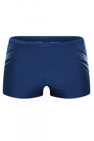 Pánské plavky 37809 blue tmavě modrá