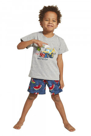 Chlapecké pyžamo 789/78 kids watermelon melanž 98/104