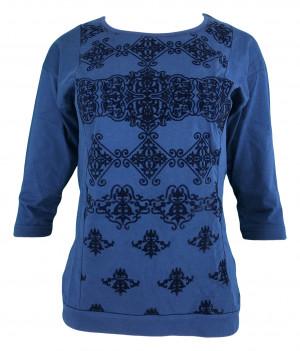 Dámské pyžamo 4318  - Vienetta modrá