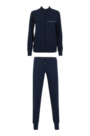 Dámské pyžamo 164146 CC270 00135 modrá - Emporio Armani modrá