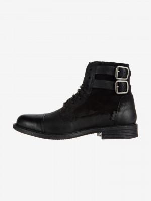 Kotníková obuv Levi's Černá
