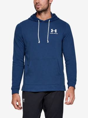 Mikina Under Armour Sportstyle Terry Hoodie Modrá