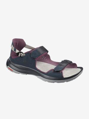 Sandály Salomon Tech Sandal Feel Navy Blaze/Winetas Modrá