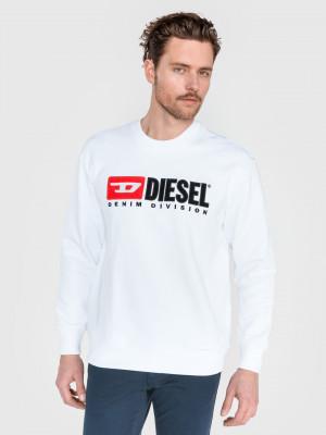Division Mikina Diesel Bílá