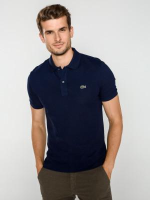 Polo triko Lacoste Modrá