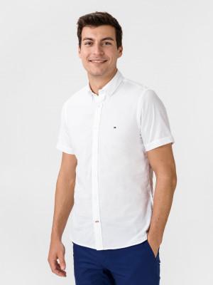 Poplin Košile Tommy Hilfiger Bílá