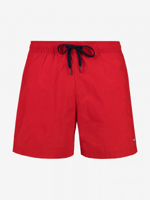 Plavky Tommy Hilfiger Červená