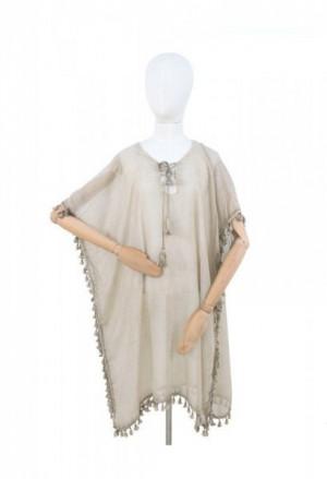 Art 19170 Indiánské plémě Pareo 90x90 cm light beige