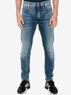 D-staq 3D Jeans G-Star RAW Modrá