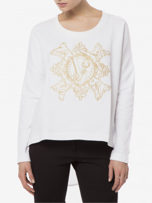 Mikina Versace Jeans Bílá